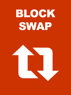 Block Swap title screen