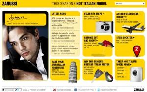 Hot Italian Model - home